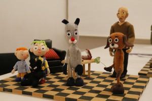 集まった人形たち