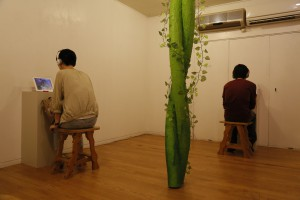 2階展示の様子